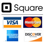 We accept payment from most major credit cards.